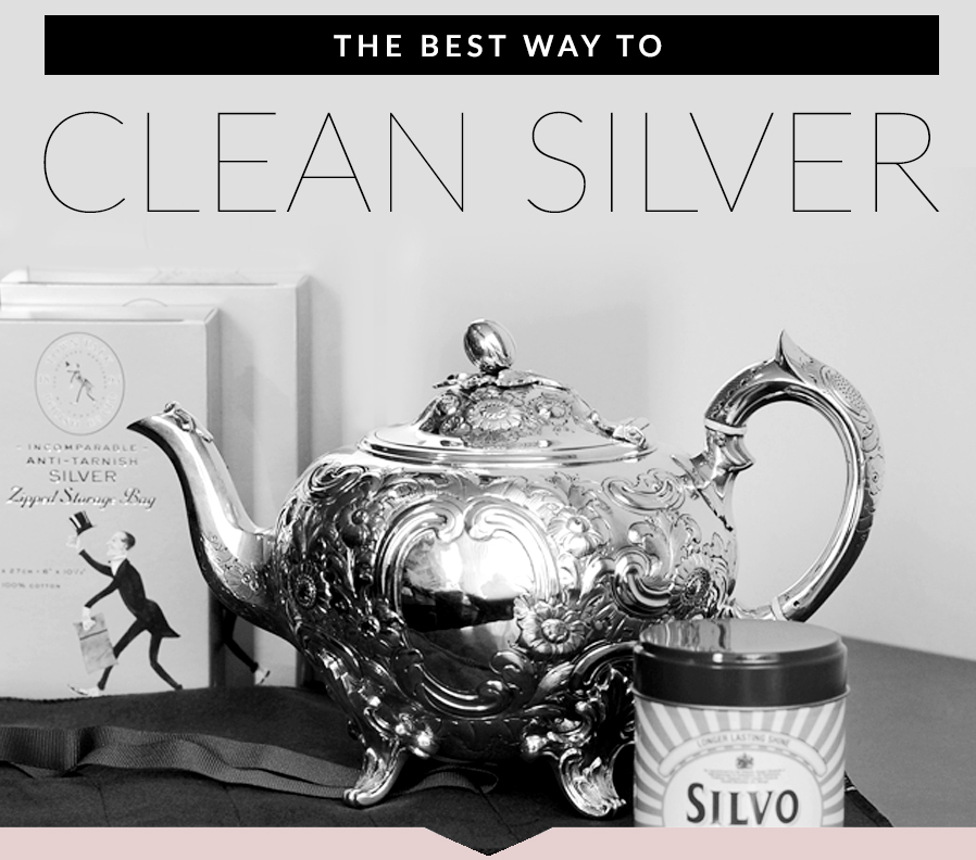 The Best Way To Clean Silver