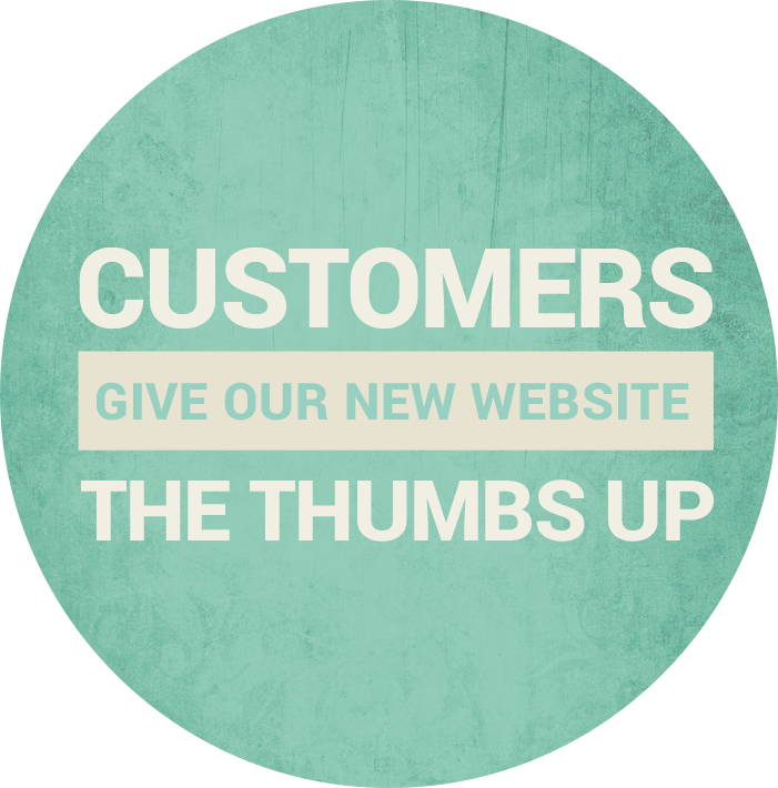 Customers Gave Our Website The Thumbs Up