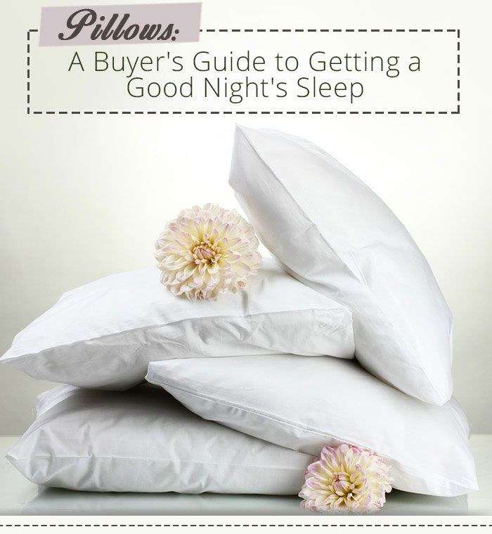 best pillows for a great night's sleep