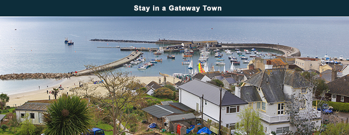 Stay in a Gateway Town