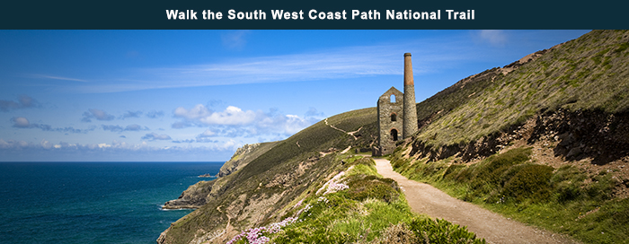 Walk the South West Coast Path National Trail