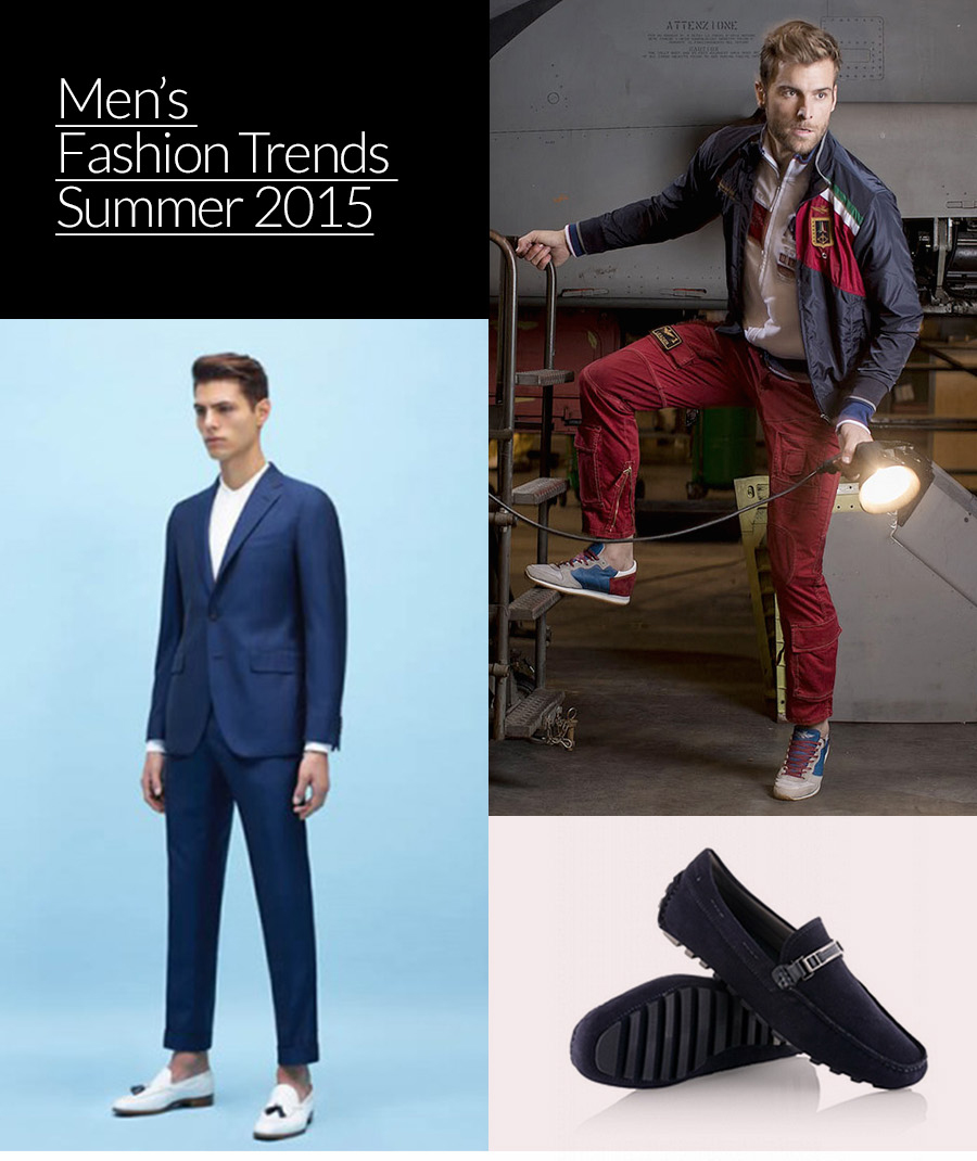 Men's Fashion Trends Summer 2015