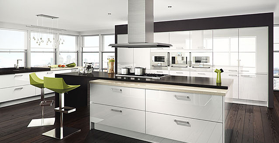 High Gloss Kitchen Cabinets Home Design Inspiration Zoov: Design Inspiration - High Gloss Kitchens