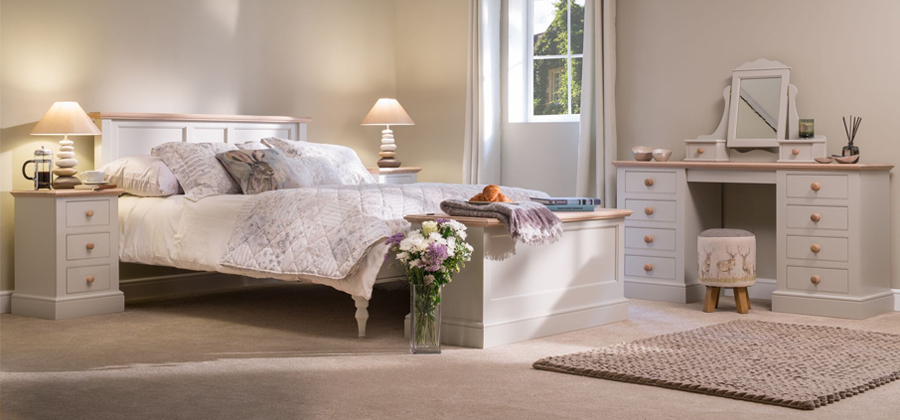 Millbrook white bedroom painted furniture