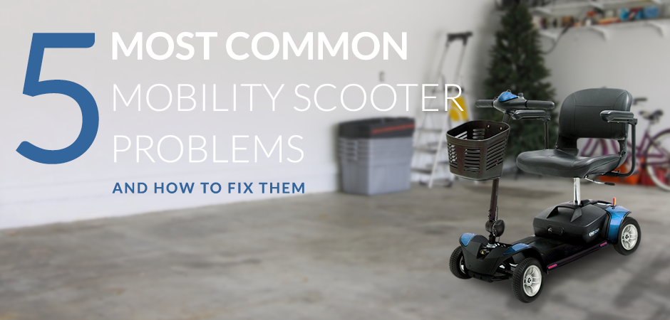 The 5 Most Common Mobility Scooter Faults | PC Mobility