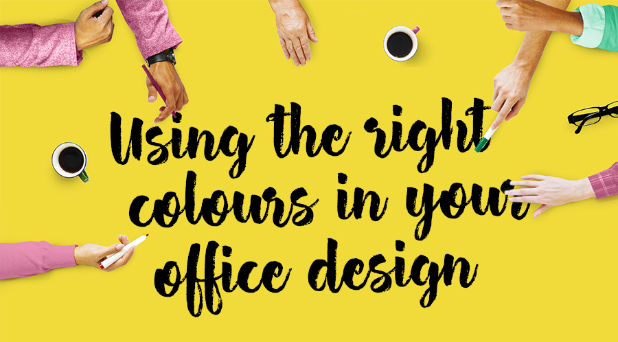 Using the Right Colours In Your Office Design