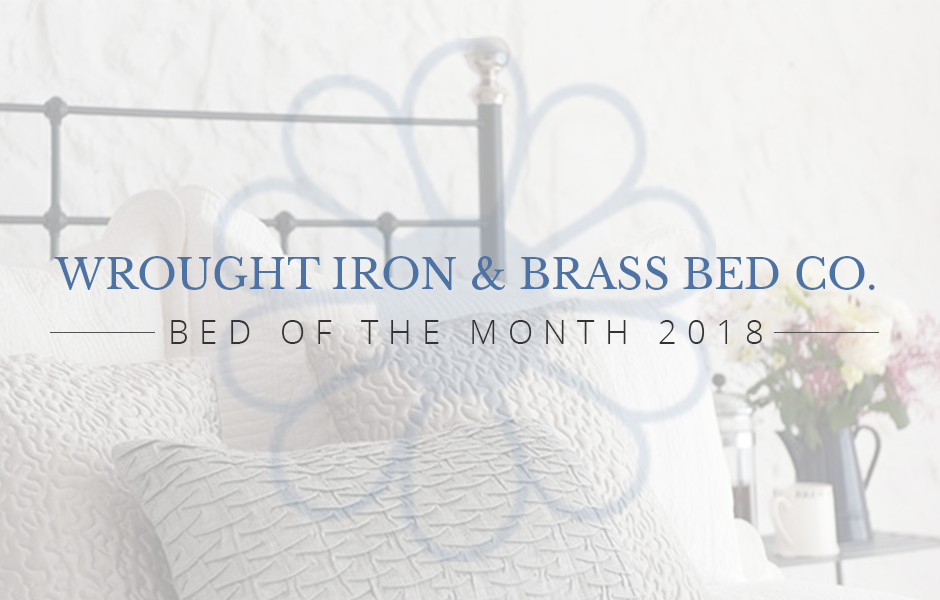 Wrought Iron Bed Of The Month